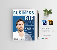 Magazine Cover Design Free Download Business Magazine Cover Design Free Download On Behance