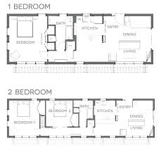 small houses floor plans floor plans two bed room these tiny house small house floor plans