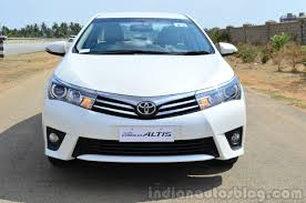 2014 Toyota Corolla Altis Petrol Review front - Indian Autos blog