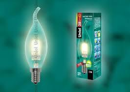 <b>Лампа</b> галогенная (01086) <b>Uniel</b> Е14 <b>28W</b> прозрачная <b>HCL</b>-<b>28</b>/<b>CL</b> ...