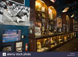 ILLINOIS Aurora Walter Payton museum in Roundhouse restaurant and Stock  Photo - Alamy