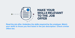 ways to show recruiters you ve got mad skills make your skills relevant to the job offer