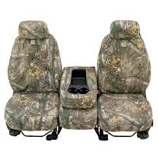 realtree car seat custom seat covers with adjule headrest front brown pair camouflage baby car seat
