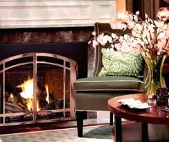 fireplace insert doors for without vs glass colonial recessed wall mounted wood burning decorating adorable