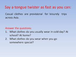Say a tongue twister as fast as you can: - ppt video online download