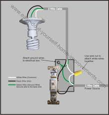 light switch wiring diagram single pole light switch wiring at Wiring A Switch