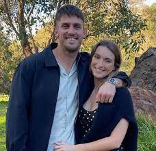 Mitchell Marsh with girlfriend Greta Mack | Celebrities InfoSeeMedia