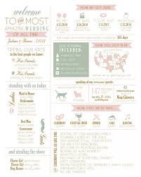 Fun Wedding Programs Fun Wedding Programs Guests Will Want To Read