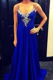<b>Spaghetti Strap Prom Dress</b> - Dorris Wedding
