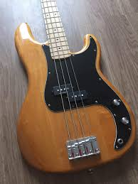 Squier vintage modified precision bass review