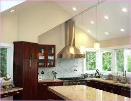 track lighting sloped ceiling fresh angled lights image of for kitchen vaulted