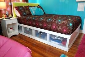 Sterilite Under Bed Storage Enchanting Sterlite Underbed Storage Double Bed With Lots Of Under Bed Storage