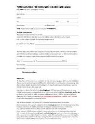 permission form for travel children into by csgirla permission form for travel children into by csgirla letter of permission to travel