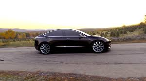 Tesla Model Announced Release Set For Price Starts At