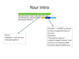 essay structure year nine ppt video online 5 your