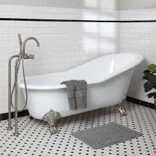 beautiful clawfoot bathtub design