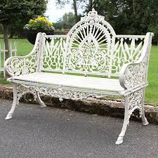 mountbatten cast iron garden bench british ironwork centre brilliant ideas 10