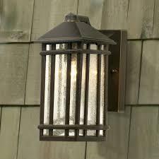 craftsman style exterior lighting cottage candle sconces bungalow decorating
