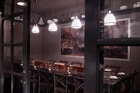 Luxury Modern Restaurant Private Dining Interior Design DBGB Kitchen Bar  East Village NYC