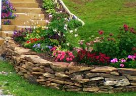 rock flower bed ideas landscape rock flower beds large size of garden