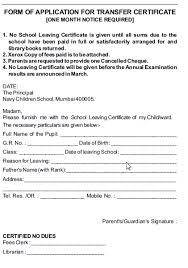 Admission Form For School Simple Application For Duplicate Tc To Principal Raised Ranch Deck