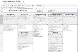 Revenue Model Template How To Create A Business Model Canvas With Ms Word Or Google Docs