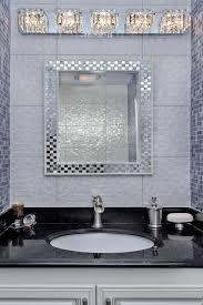 bathroom vanity lighting fixtures. Chrome Bathroom Vanity Light Fixture With Crystal In Modern Modern- Lighting Fixtures