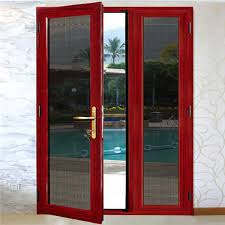china modern exterior double swing glass entry doors with aluminum frame china aluminum door aluminum glass door