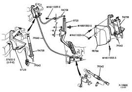 cables on throttle body 80 96 ford bronco ford bronco zone 92 bronco accel cable diagram by ford jpg