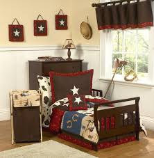 beautiful western theme cowboy toddler boy forter bedding 5pc bed western baby bedding