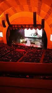 Radio City Music Hall Section 3rd Mezzanine 2 Row A Seat