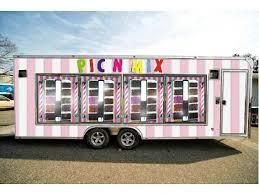 Vending Machine Trailer Custom A Picnmix Vending Machine Trailer New For Festivals Wow Www