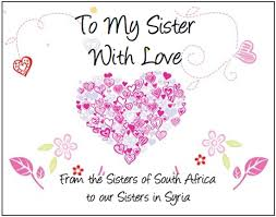 """Drop Off Points For """"To My Sister With Love"""" Campaign UmmulHasanaat Unique Love You Sis Hawa"""