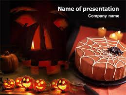 Halloween Pumpkin Powerpoint Template Backgrounds 01899