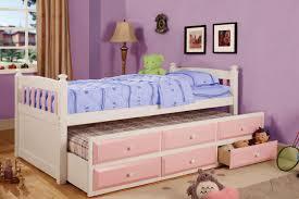 girls kids trundle beds