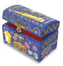 How To Decorate A Treasure Box DecorateYourOwn Wooden Treasure Chest 100 Details Rainbow 2