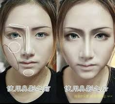 cosplay face shape changing