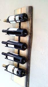 wood wall wine rack wall hanging wooden slab wine rack on hanging wine rack wooden wall