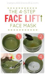 tighten up your skin with my favorite diy homemade 4 step face mask