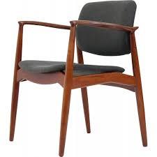 orum mobler teal and fabric armchair erik buch 1957