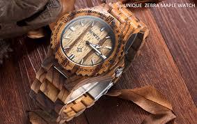 bewell zs w023a male wooden date quartz wrist watch with gear shape bezel