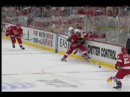 penguins flyers highlights mike lange highlights penguins red wings game 7 2009 playoffs youtube