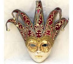 Decorative Masquerade Masks Joker Mask Jester Masquerade Mask Full Face Venetian Mask 54