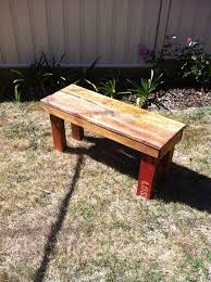 pallet outdoor bench diy. Picture Of Reclaimed Pallet Wood Bench Outdoor Diy O