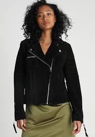 vicris leather jacket black
