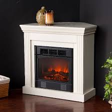 inspiring selecting the perfect electric fireplace for your home at small corner