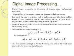 Computer Science Thesis in Digital Image Processing    Digital Image Processing