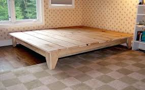 Cool Bed Frames Unique Bed Frames Low Bed Timber Unique Look And