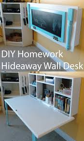 33 Clever Hideaway Projects for Small Homes | Desks, Drop and Room