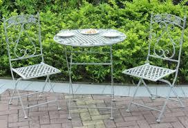 metal garden bistro set patio furniture